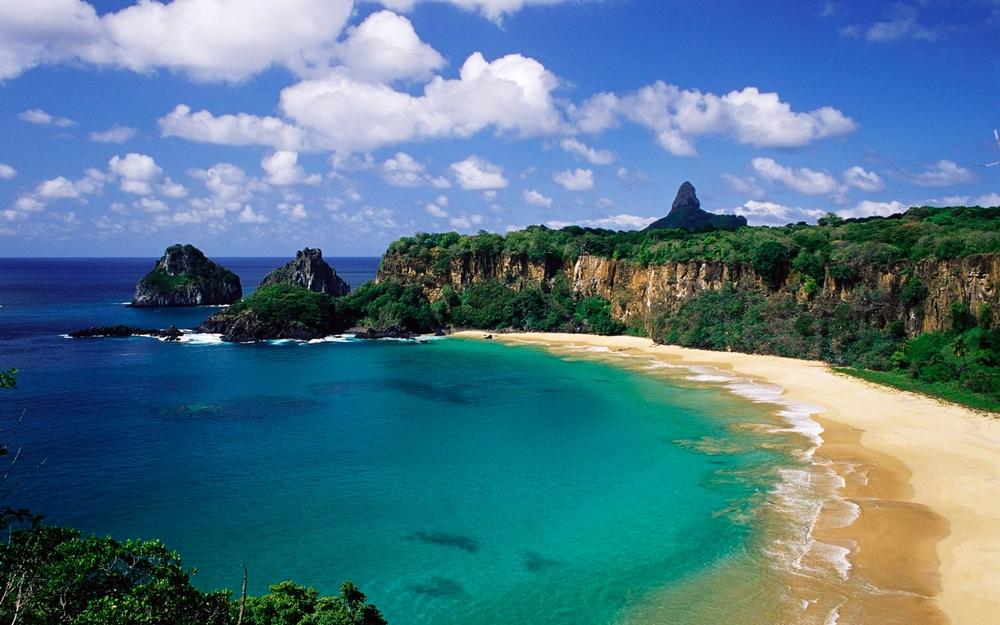 Praia do sancho fernando de noronha brasil