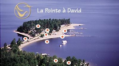Camps touristiques de la Pointe à David